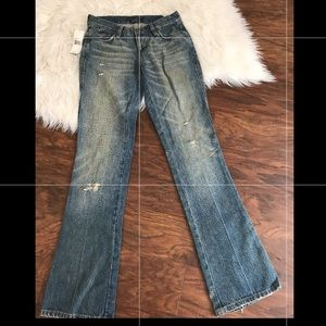 Ralph Lauren distressed denim jeans